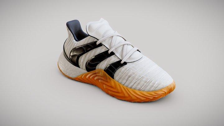 Adidas Sobakov 2 0 Originals white 3D Model