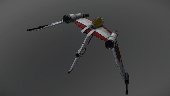V19 Starfighter 3D Model