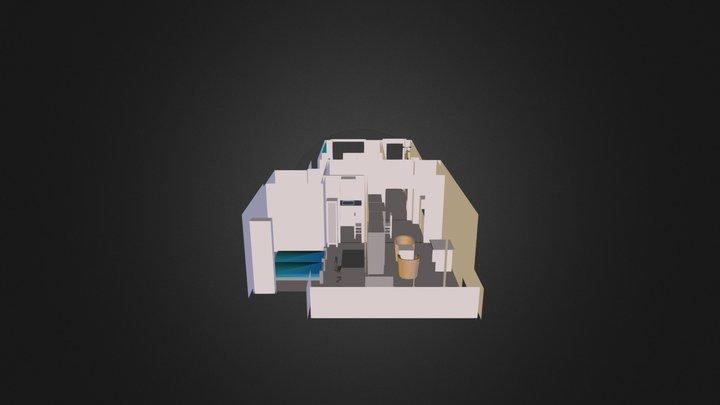 Kissjancsi 3d v3szoba 3D Model