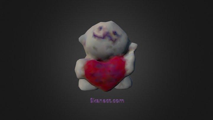 I <3 u 4 your Brains 3D Model