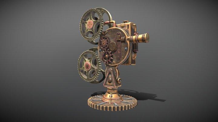 Steampunk_Projector 3D Model