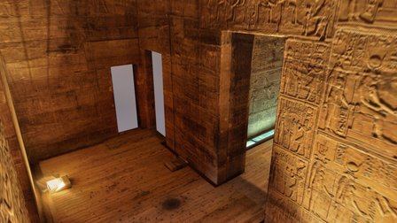 Rough Draft: Temple of Isis 3D Model