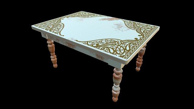 Table #1 3D Model