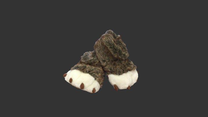 Slippers 3D Model