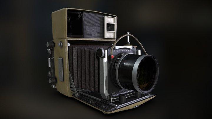 Linhof Technica 70 3D Model