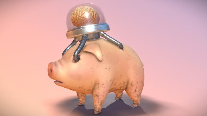 Einswine - Mother 3 3D Model
