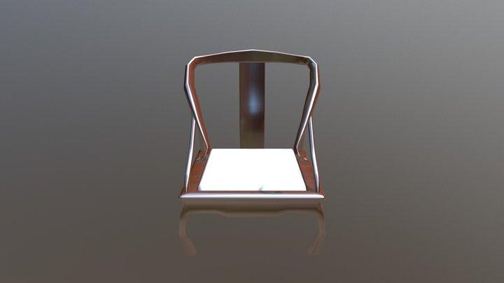 Asian Chair 3D Model
