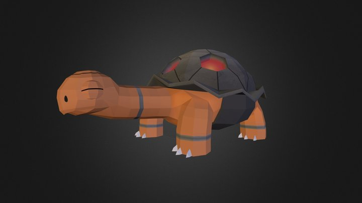 Torkoal (Pixelmon) 3D Model