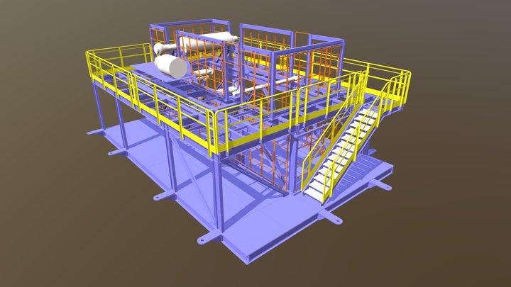 SISTEMA DE TROCA DE CORREIA 3D Model
