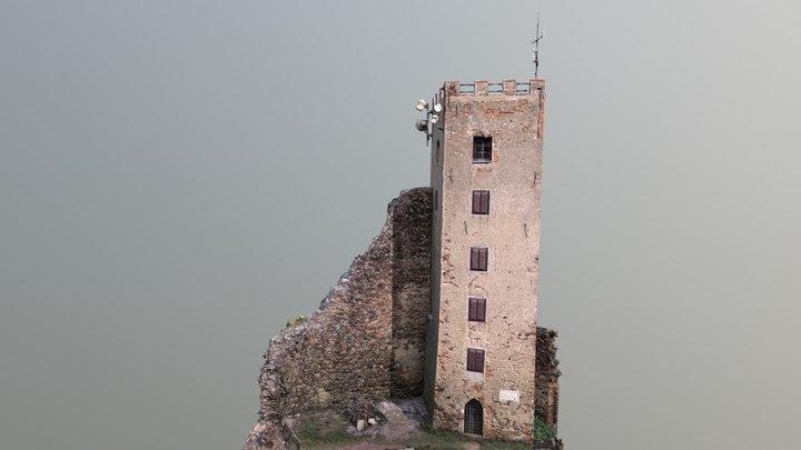 Rýzmberk tower, Czech Republic 3D Model