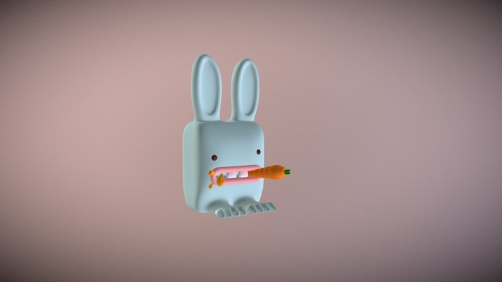 honey bunny 3D Model