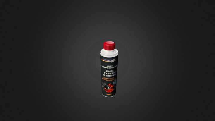 FUEL SYSTEM CLEANER1 3D Model