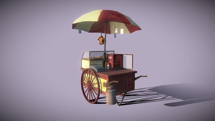 Marchand Ambulant 3D Model