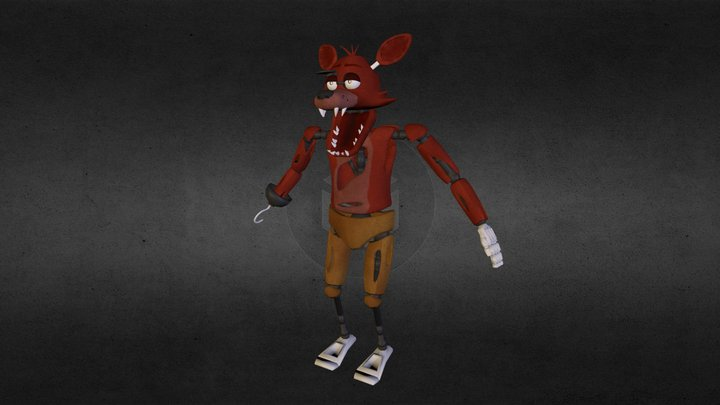 Foxy the Pirate 3D Model