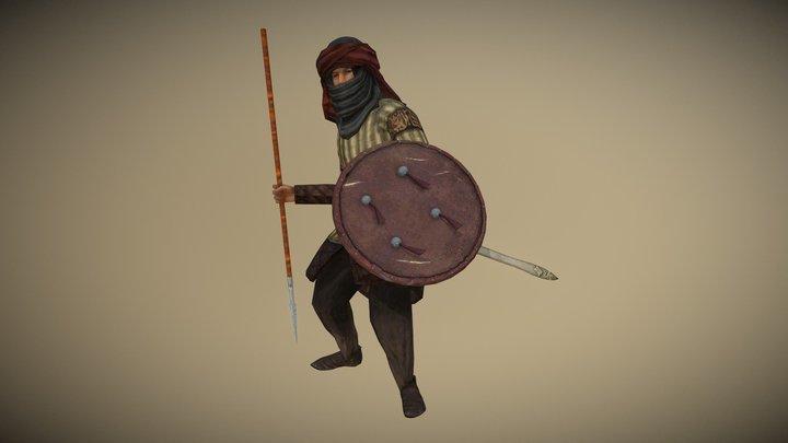 Arab Skirmisher (Machiavello Mod for M2TW) 3D Model