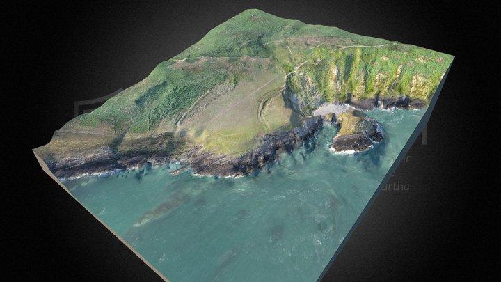 Caer Bentir Castell Bach - Gorffennaf 2018 3D Model