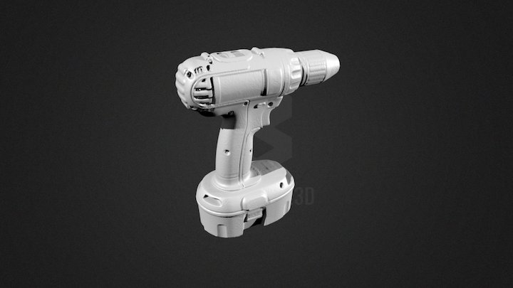 Drill 3D Scan 3D Model