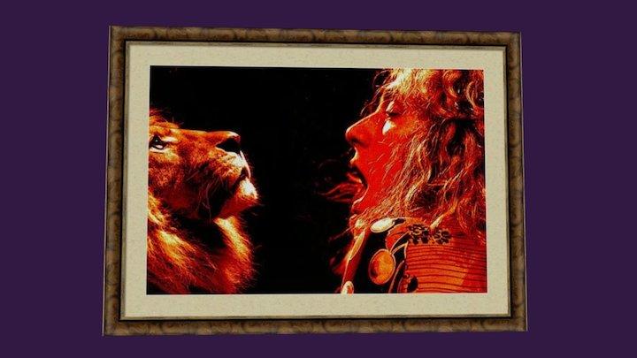 Lions Roar 3D Model