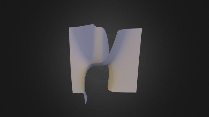 Hireslevelsurface100 3D Model