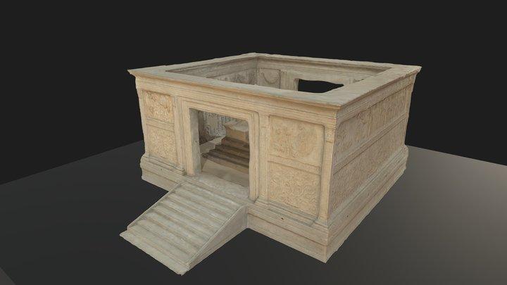 Ara Pacis 3D Model