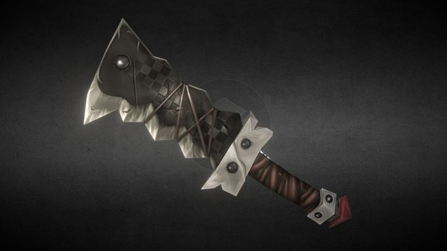Marauder Blade 3D Model