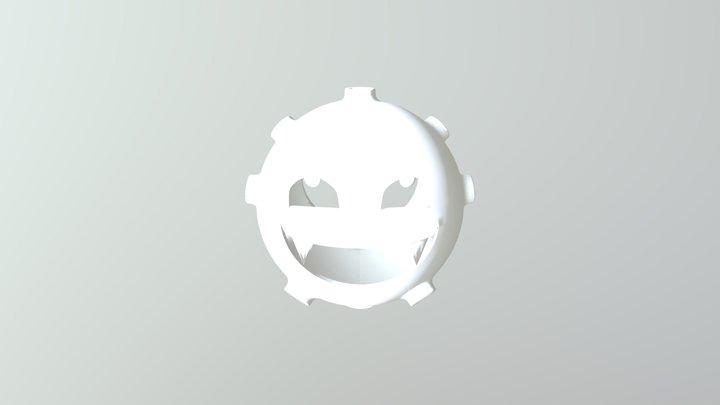 Koffing Candle Holder 3D Model