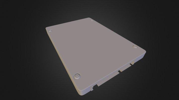 Laptop HDD 3D Model