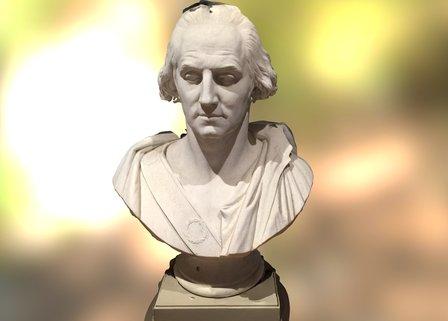 Bust #1 at Huntington European Art Gallery 3D Model