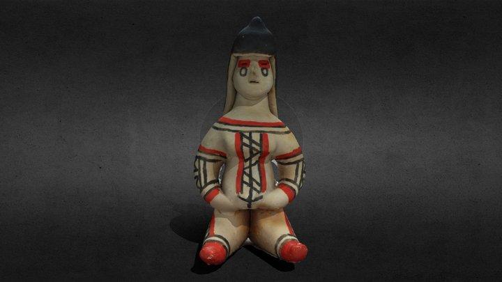 Boneca Cerâmica do Karajás 3D Model