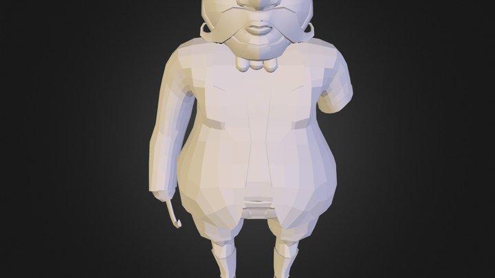 Personaje 3D Model