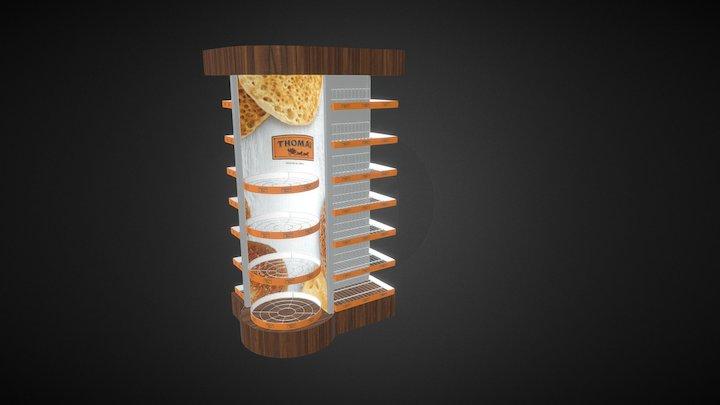 Thomas Endcap 3D Model