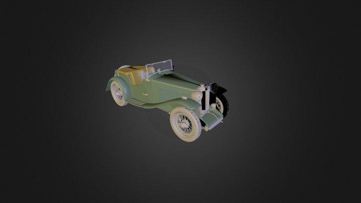 MG TA 1938 3D Model