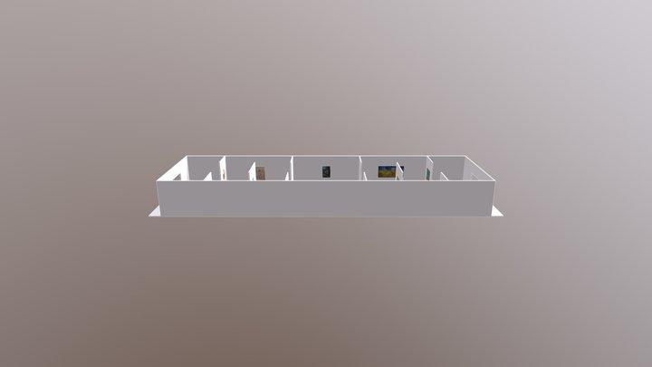 Sketchup Museum Example 3D Model