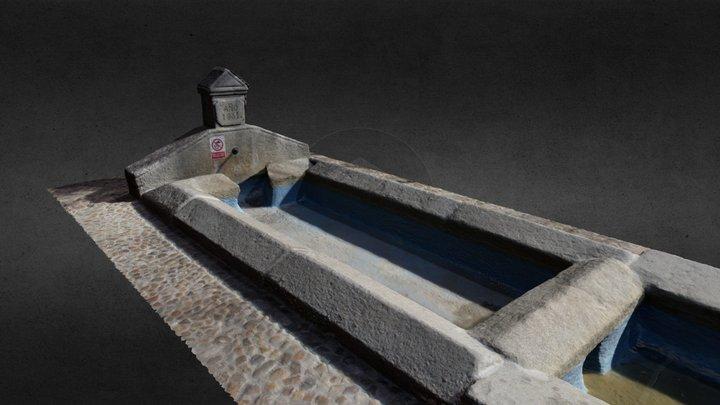 Fuente de la Teja (Valmojado, Toledo) 3D Model