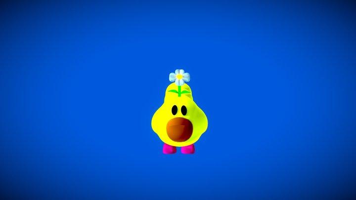 Wiggler  - Super Mario 64 3D Model