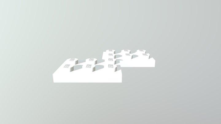 2x3 3D Model
