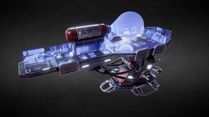 HoloTech Bench 3D Model