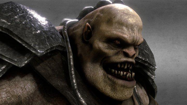 Smasher Orc 3D Model