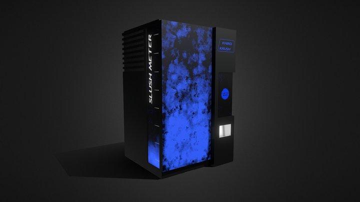 Sci-Fi Vending Machine 3D Model