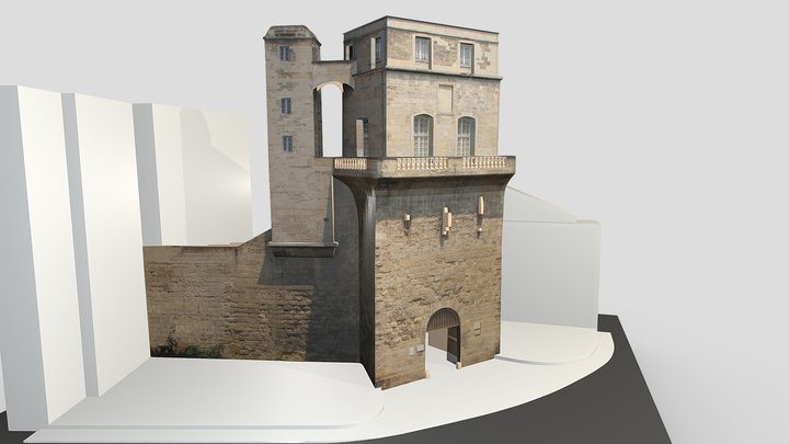 Tour De La Babote 3D Model