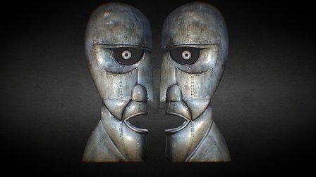 Pink Floyd Division Bell Statue 3D Version 1 3D Model