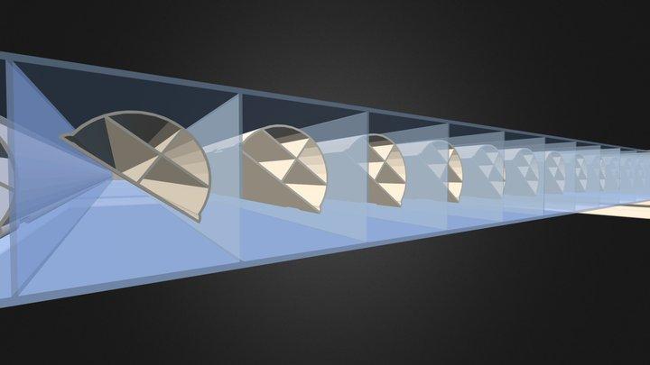 Coupe 3D en tranche du Sunlite Control 3D Model