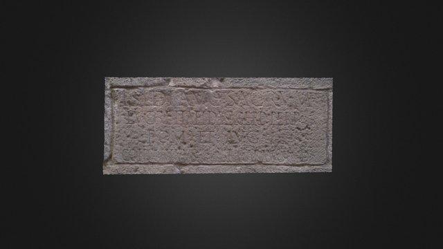 Inscripción dedicada a Isis 3D Model