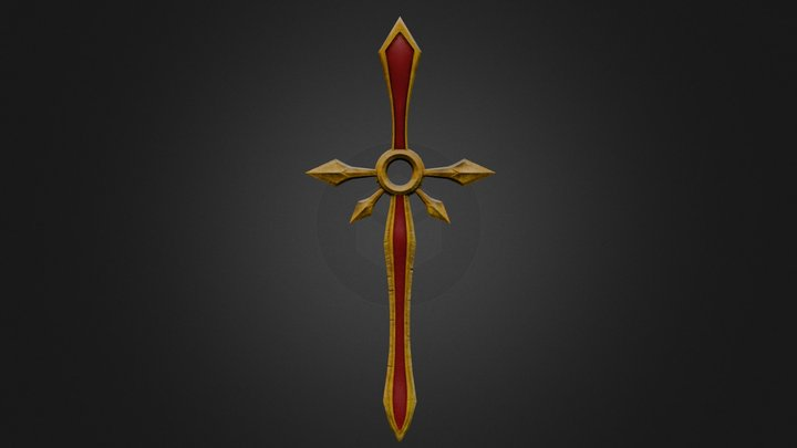 Zenith Sword 3D Model