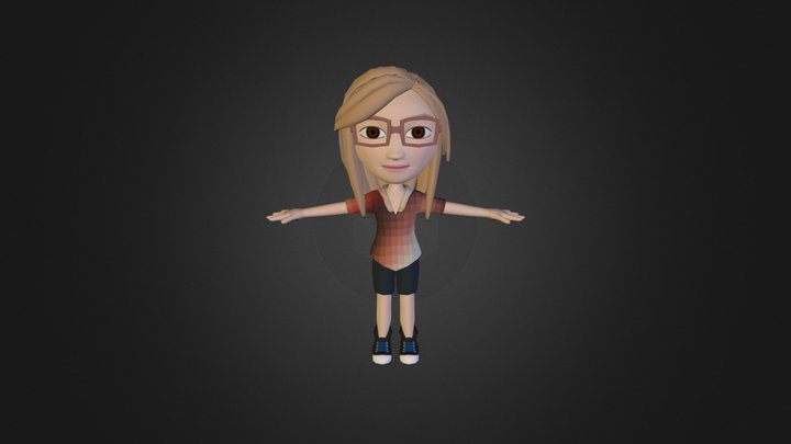Ono - female character 3D Model