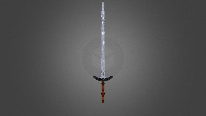 Warrrior Sword - Minecraft 3D Model