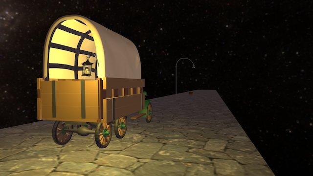 La nuit des cents mystères [Lien vidéo inclus] 3D Model