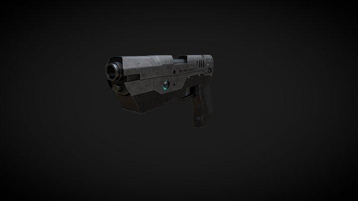 Г-78 Hand Gun-High Poly 3D Model