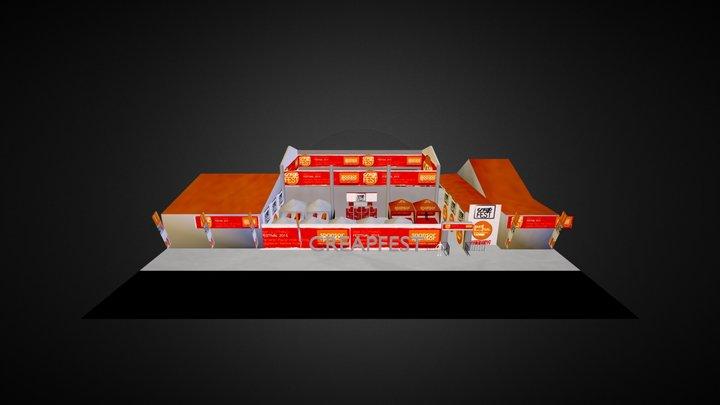 EVENTAREA 3D Model