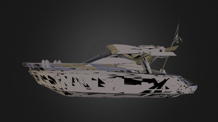 cruise boat.zip 3D Model